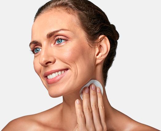 Limpeza de pele profunda com Peeling de Cristal